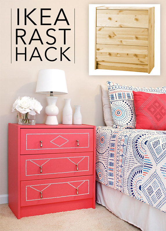 Ikea dresser gets a neon makeover