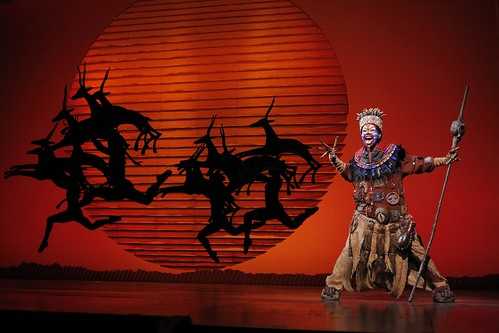 Buyi Zama as Rafiki in THE LION KING North American Tour. ©Disney. Photo by Joan Marcus.. From We Just Can't Wait...Why You Need to See the Lion King On Tour