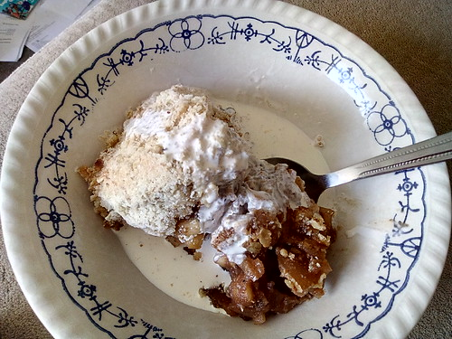 aple crumble and cream Apr 18