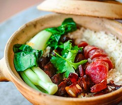 #ClaypotRice with different kinds of #Chinese cured meat. A well liked dish amongst the Chinese community. This is @poonslondon version, with their signature #salumi . . #foods #foodofinstagram #igfood #foodgram  #buzzfeast  #feedfeed #forkyeah #EEEEEATS
