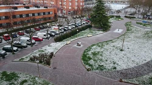 Granizada Gasteiz 17-03-2018