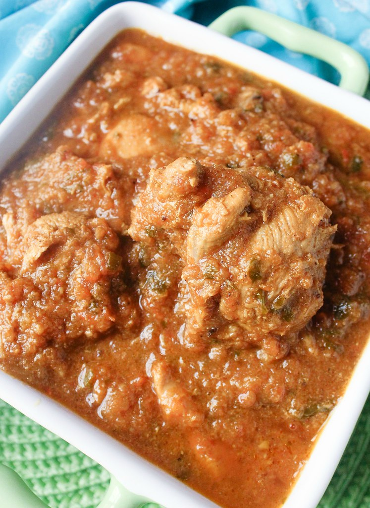 Lucknowi Chicken Curry 2