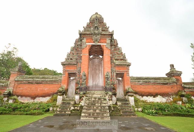 bali itinerary taman ayun temple