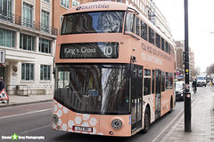 Wrightbus NRM NBFL - LTZ 1161 - LT161 - Bumble - King's Cross 10 - RATP Group London - London 2018 - Steven Gray - IMG_7248