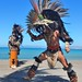 Aztec dancer por kerry richardson