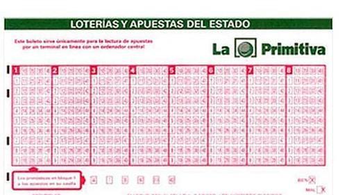 Lotería Primitiva Boleto