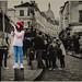 """J'ai trouvé le """"Poulbot"""" 2.0 de Montmartre (version jeune fille italienne)"""
