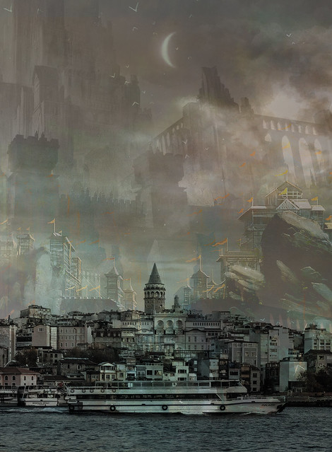 the dystopia of galata / istanbul.