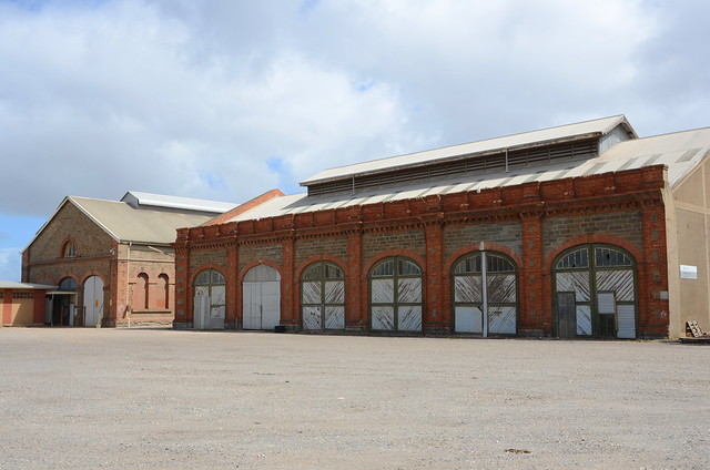 DSC_8506 old Bulk Store (formerly Carriage and Wagon Shop extension), Islington Railway Workshops, Kilburn, South Australia