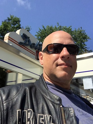 Delta Diner selfie