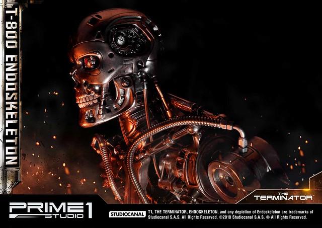 「I'll Be Back!!」Prime 1 Studio《魔鬼終結者》T-800 內骨骼 ターミネーター T-800 エンドスケルトン HDMMT1-01EX 1/2 比例全身雕像作品