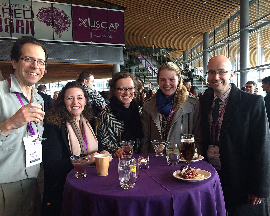 Faculty and residents from the Department of Pathology & Laboratory Medicine at the University of Rochester Medical Center attended the U.S. and Canadian Academy of Pathology (USCAP) Annual Meeting March 17-24, 2018 in Vancouver, BC.
