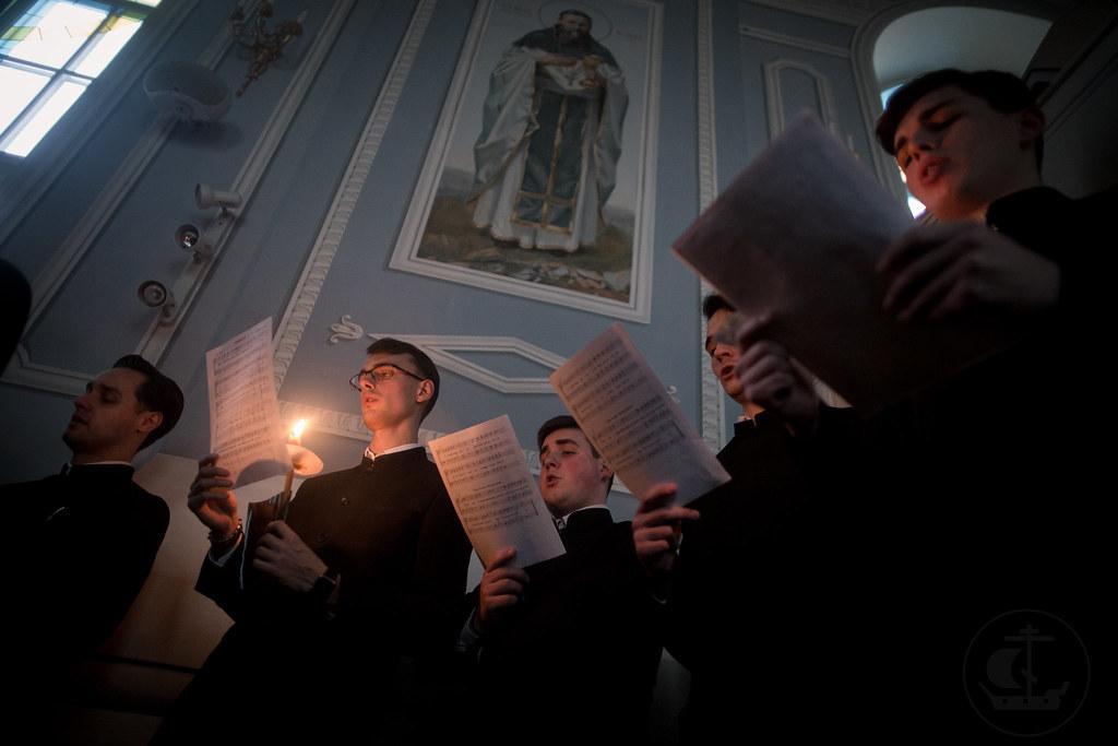5 апреля 2018, Утреня Великой Пятницы / 5 April 2018, Matins of Holy Friday