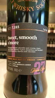 SMWS 7.185 - Sweet, smooth s'more