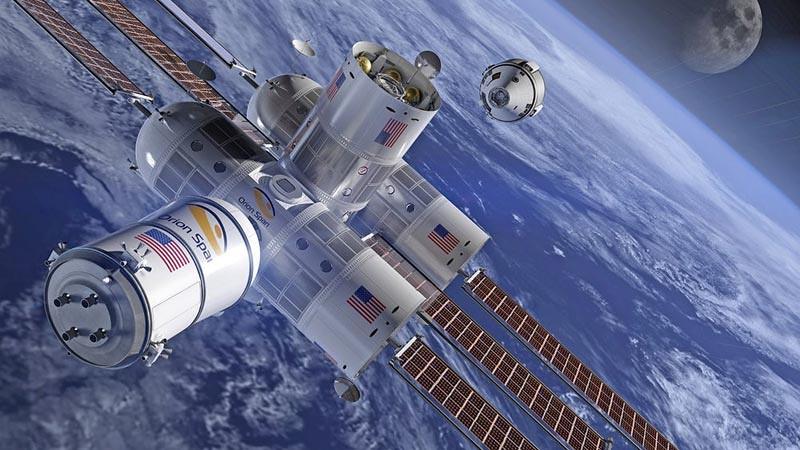 Aurora Station, hotel mewah ruang angkasa produksi Orion Span.