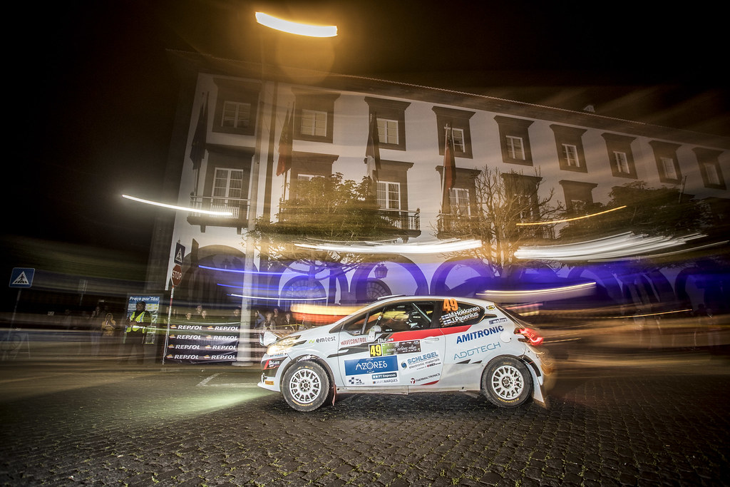 49 HOKKANEN Mika (fin), PASENIUS Jukka (fin), Peugeot 208 R2, action during the 2018 European Rally Championship ERC Azores rally,  from March 22 to 24, at Ponta Delgada Portugal - Photo Gregory Lenormand / DPPI