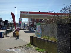 Church Hill, Northfield - Esso petrol station
