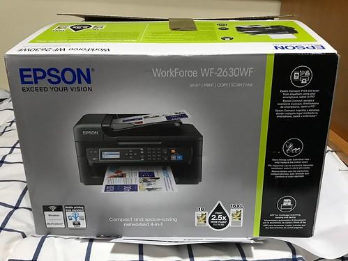 Impresora Epson WF 2650