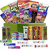 #healthyliving Healthy Snacks Care Package Gift Basket- 32 Health Food Snacking Choices – Quick Ready To Go – For Adults, College Students Gifts, Kids, Toddlers, Birthday Ideas – Say Thank You or Congratulations
