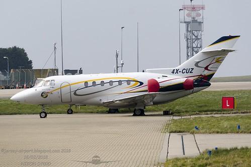 4X-CUZ BAe 125 Hawker 800XP