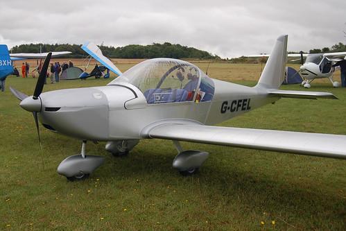 G-CFEL Evektor EV-97 (PFA 315-14740) Popham 030808