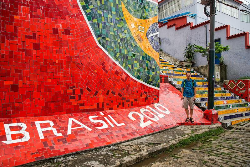 Timo in Brazil  brasilia rio de janeiro mosaic