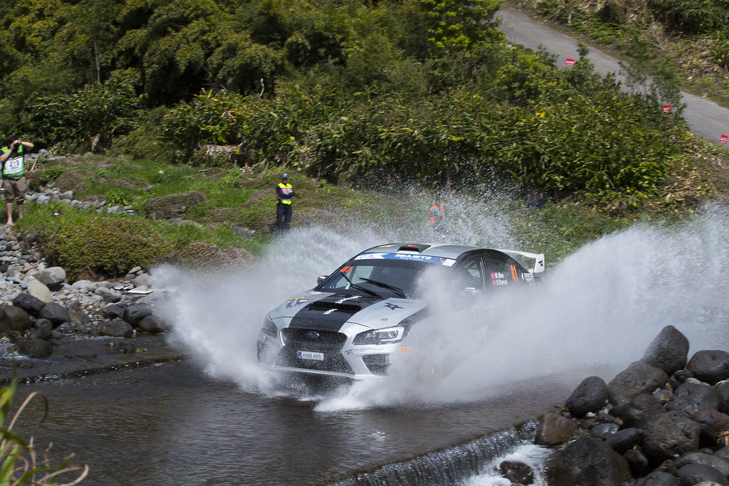 41 MENDERES OKUR Tarik (tur), UFUK ULUOCAK Zafer (tur), SUBARU IMPREZA, action during the 2018 European Rally Championship ERC Azores rally,  from March 22 to 24, at Ponta Delgada Portugal - Photo Gregory Lenormand / DPPI