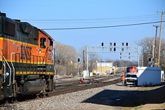 BNSF 2325 + BNSF 2849 South