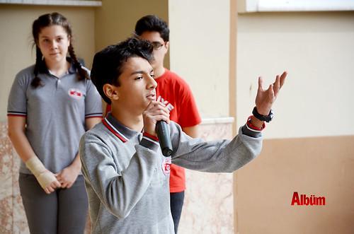 500 öğrenci flütle 'Hey onbeşliyi' söyledi-4