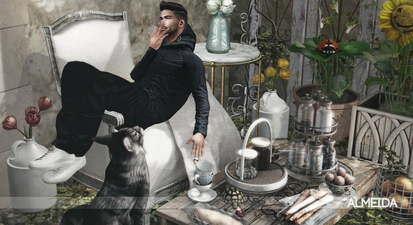 POST🔥 #1168 | RK Poses | Nutmeg | JIAN | Merak | Dahlia | ILLUMINATE | Granola | hive | Ariskea | FaMESHed | Collabor88 | Shiny Shabby | MGmen's |