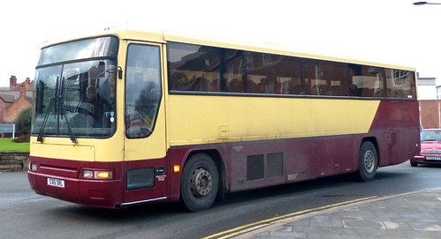 S315 SRL 'Harpurs Coaches', Derby. Volvo B10M-62 / Plaxton Premiere on 'Dennis Basford's railsroadsrunways.blogspot.co.uk'