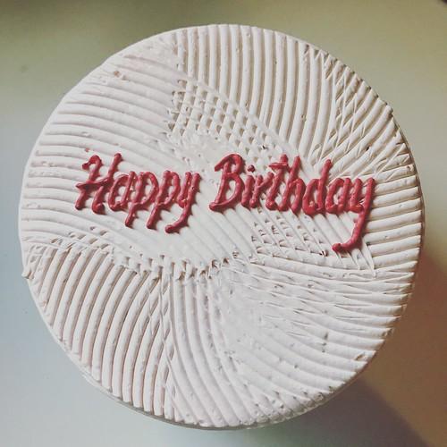 #happybirthdaytome #birthdaycake #cakesbyrubina @cakesbyrubina
