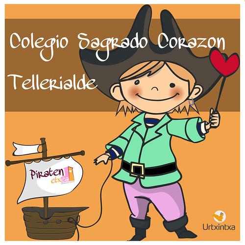 Pirata Egonaldia-Colegio Sagrado Corazon - Tellerialde 2018-04-12 / 2018-04-13