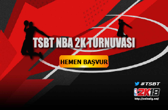 TSBT NBA 2K Turnuvası Başvuru