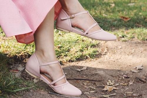 Charlie Stone Shoes Bellagio in Blush
