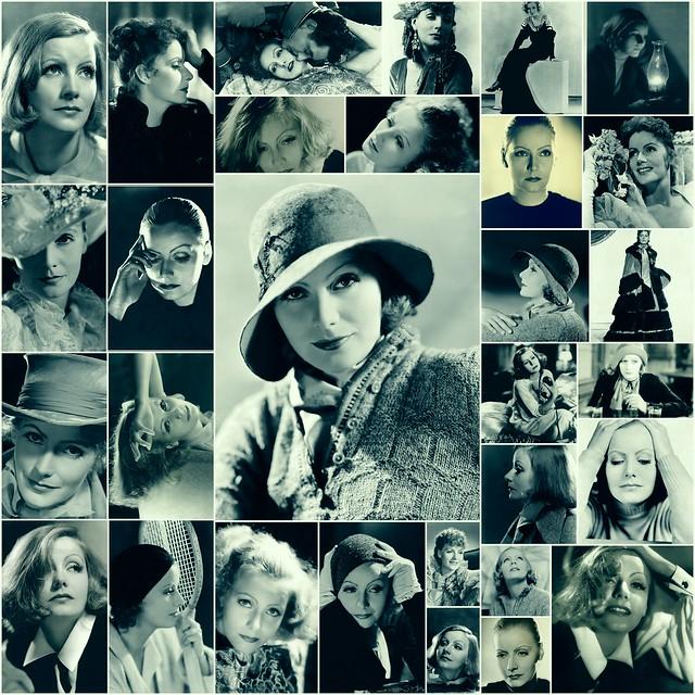 Greta Garbo Picture Collage