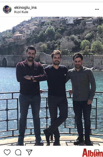 Ekinoğlu İnşaat sahibi genç iş adamı Bayram Ekin, Alanya'ya gelen kuzenlerini ağırladı.