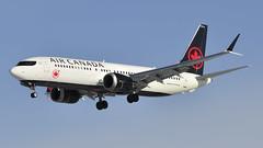 Air Canada B737 Max 8 C-FSCY