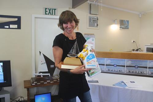 Shaaron McKee, Winner of the Queen of the river trophy