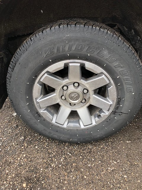 OS - strange formation on tire