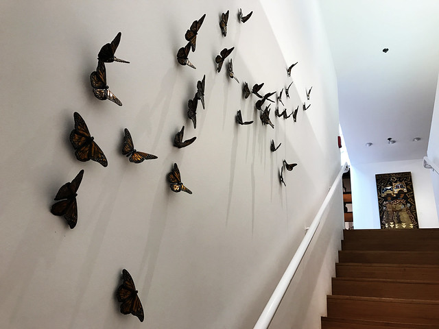 Santa Fe Railyard Gallery Butterflies