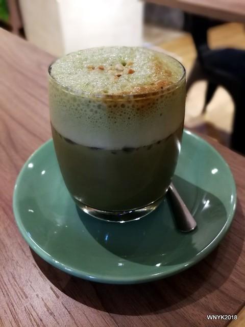 Green Tea Tiramisu Shake