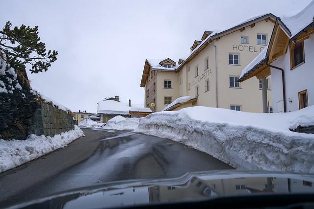Straße nach Avers