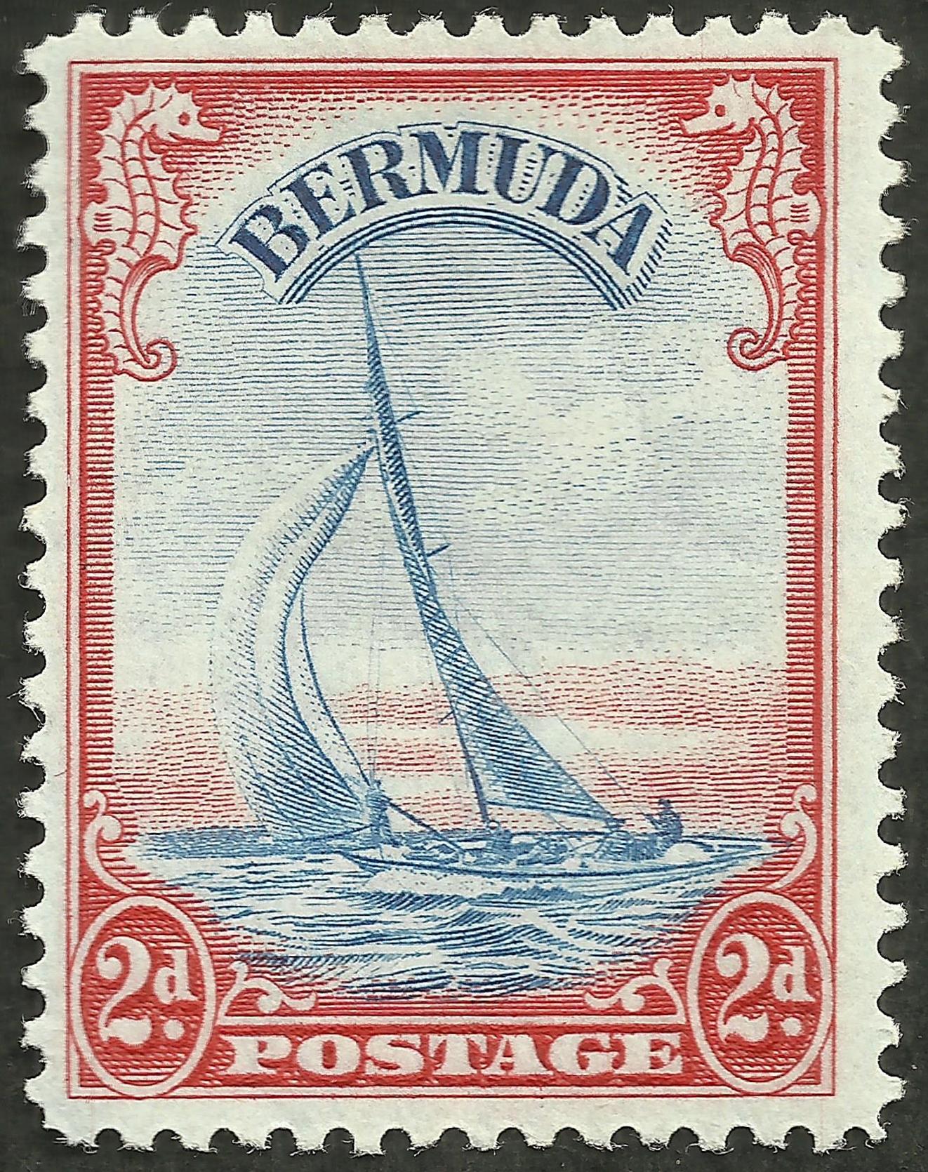 Bermuda - Scott #109A (1940)