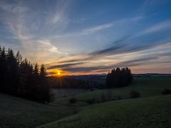 sun (rise and set)