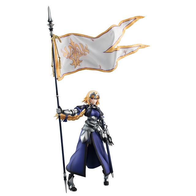 高水準的造型塗裝與可動兼具!VARIABLE ACTION HEROES DX《Fate/Apocrypha》Ruler/聖女貞德(ルーラー/ジャンヌ・ダルク)