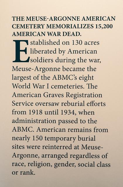 Meuse-Argonne American Cemetery, Verdun, France