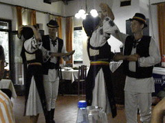 Traditional dance in Ţara Moţilor (part of Transylvania, Romania)