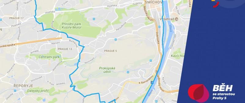 Běží se Okolo Prahy 5. Se železným starostou