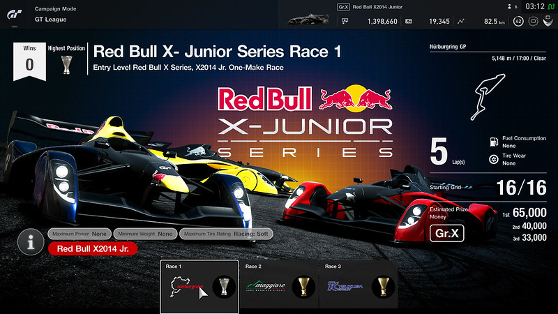 Red Bull X-Junior Series (Amateur League)